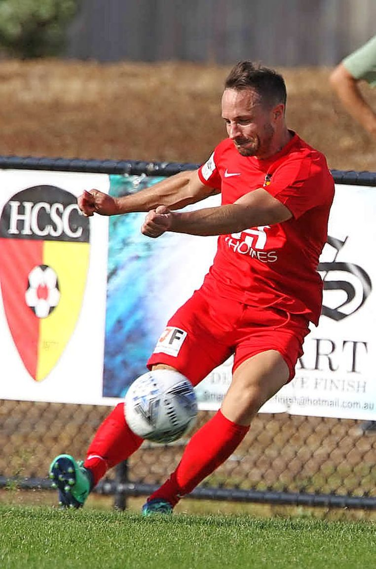 Hoppers Crossing player Scott Robson