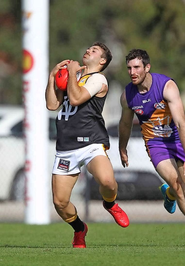 Werribee District player Andrew Panayi.